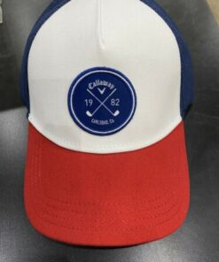 Callaway Cap Blue White & Red