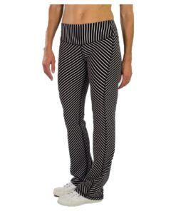 JoFit Women's Packable Pants Diagonal Stripe