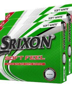 Srixon Soft Feel Golf Balls White