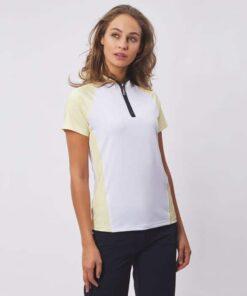 Green Lamb Edita Ragland Sleeve Polo Shirt